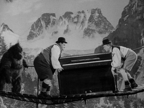 Laurel And Hardy Central Swiss Miss